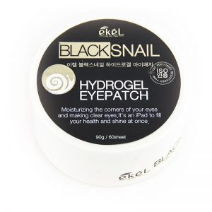 Ekel Hydrogel Eye Patch Black Snail [hidrogĒla PatČi AcĪm Ar MelnĀ GliemeŽa MucĪnu