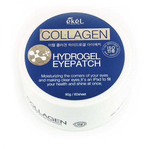 Ekel Hydrogel Eye Patch Collagen HidrogĒla PatČi AcĪm Ar KolagĒnu
