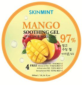 Skinmint Mango 97 % Soothing Gel. Universāls Mitrinošs Mango Gēls.
