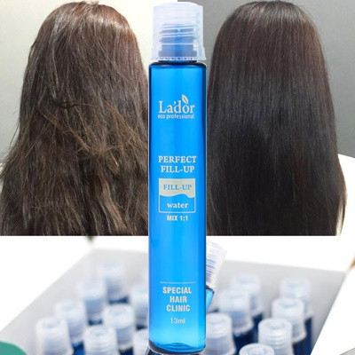 La'dor Perfect Hair Fill Up Result