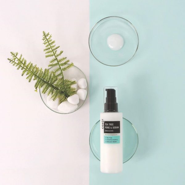 Coxir Tea Tree Pore & Sebum Emulsion 3