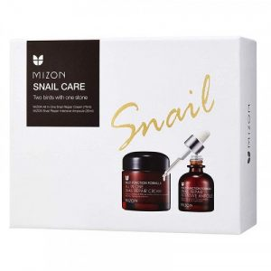 Mizon Snail Care Two Birds With One Stone Set 500x500
