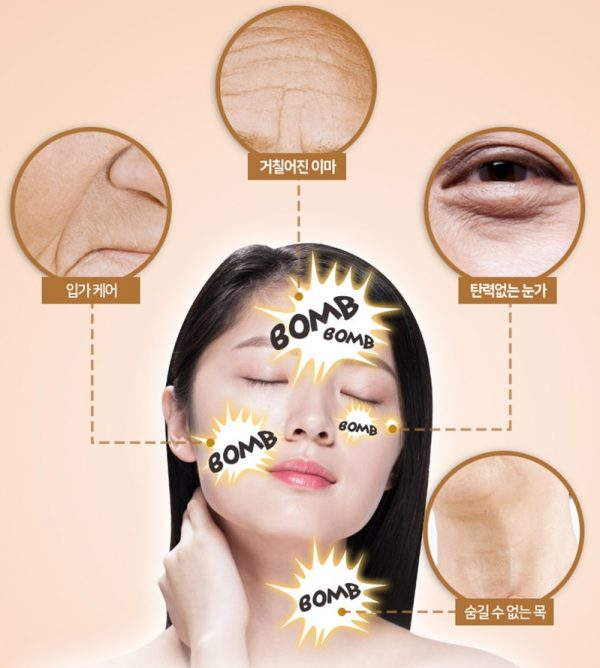 Elizavecca Gold Cf Nest White Bomb Eye Cream 4