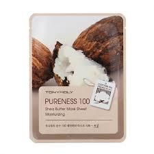 Tony Moly Pureness 100 Shea Butter Mask Sheet