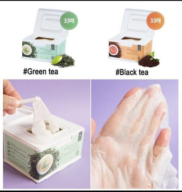 Apieu Green Black Tea Open